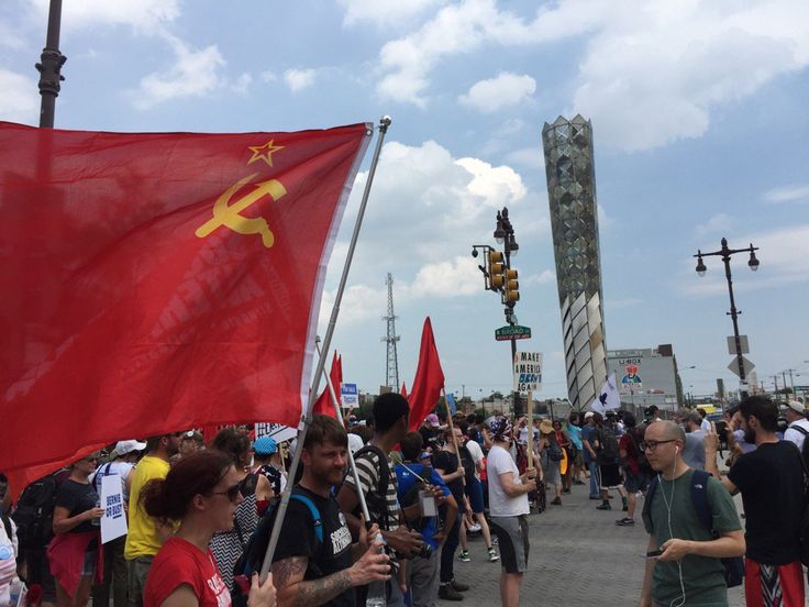 communist party unites behind hillary