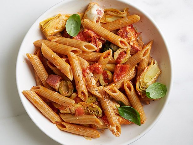 Antipasti PenneFood Network, Healthy Dinners, Antipasti Penne, Network Kitchens, Dinner Ideas, 10 Healthy, Pasta Recipe, Healthy Recipe, Penne Recipe