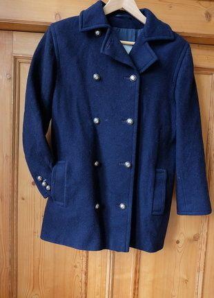 Kaufe meinen Artikel bei #Kleiderkreisel http://www.kleiderkreisel.de/damenmode/halblange-mantel/142260484-dunkelblauer-kurzmantel-wolljacke-marine-mantel-englische-winterjacke