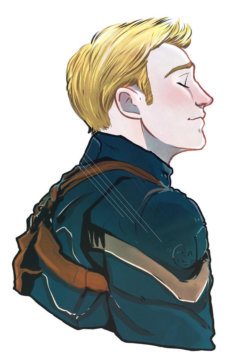 Steve Rogers, he's so pretty