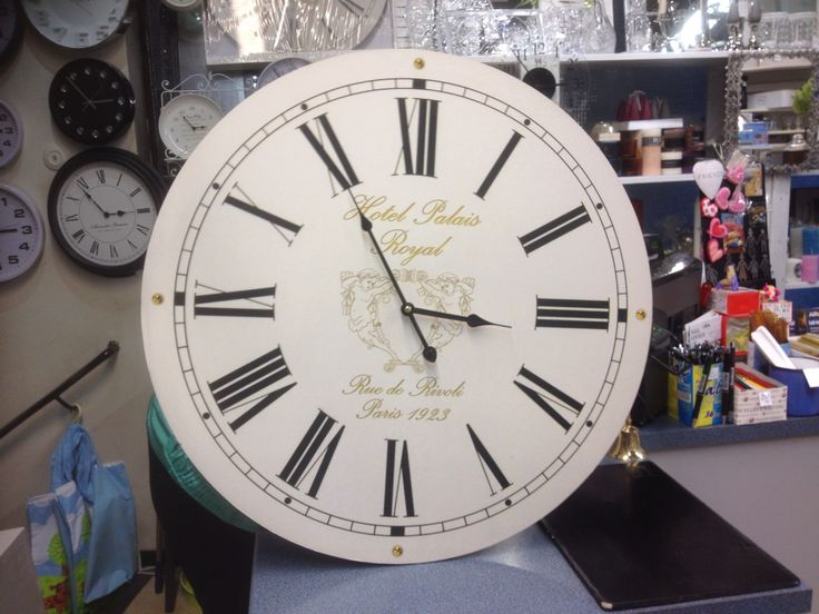Kingsize clock