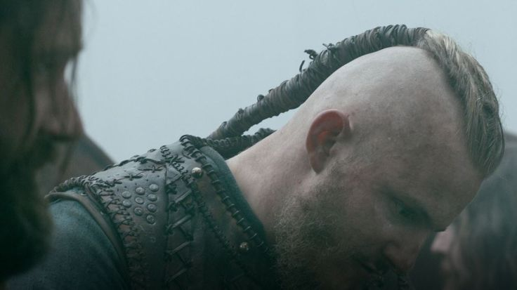 Hair Braids Undercut Bjorn Ironside Vikings Hairstyle Season 4 Viking Hair