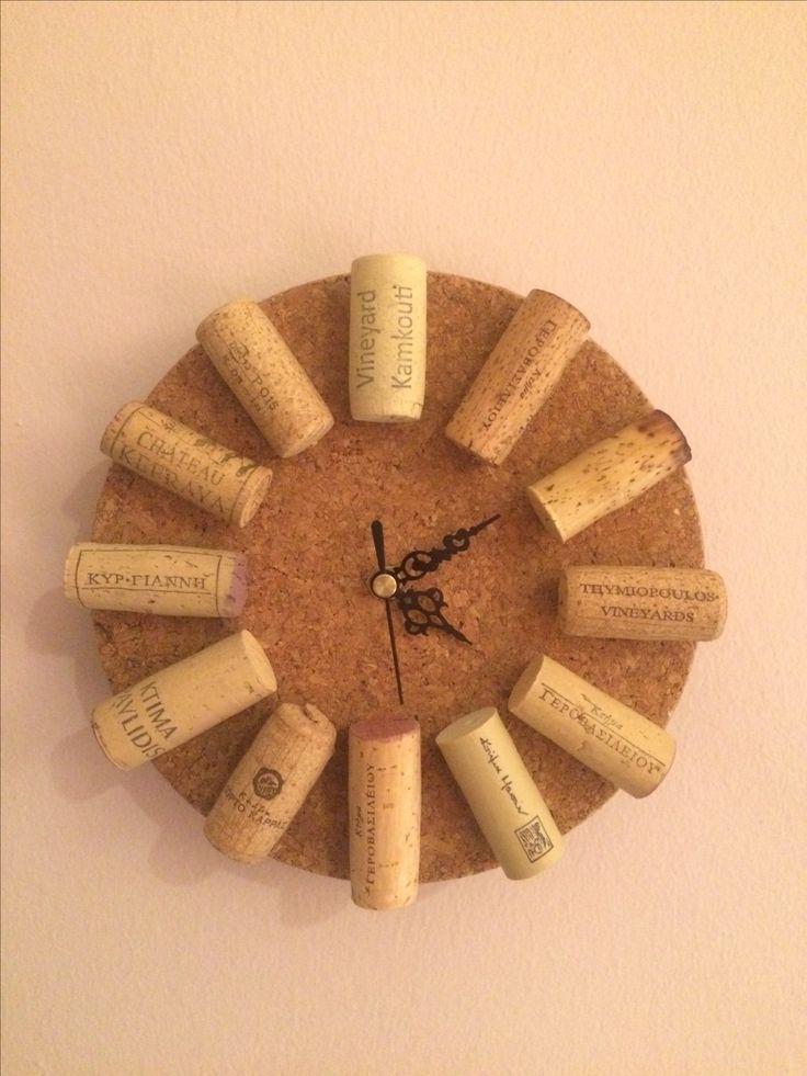 Cork Clock