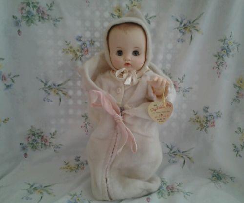 Effanbee Vintage Dee Baby Doll Original Clothes