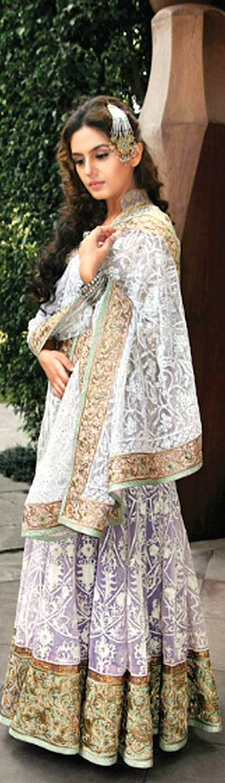 Rimple and Harpreet Narula - Princess of Avadh Collection with Huma Qureshi - Original pin by @webjournal