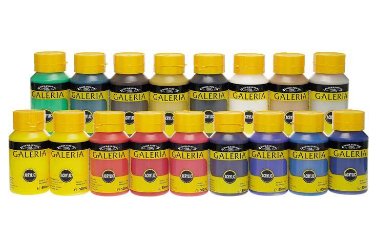 Lekolar: Akryyliväri Galeria 500 ml