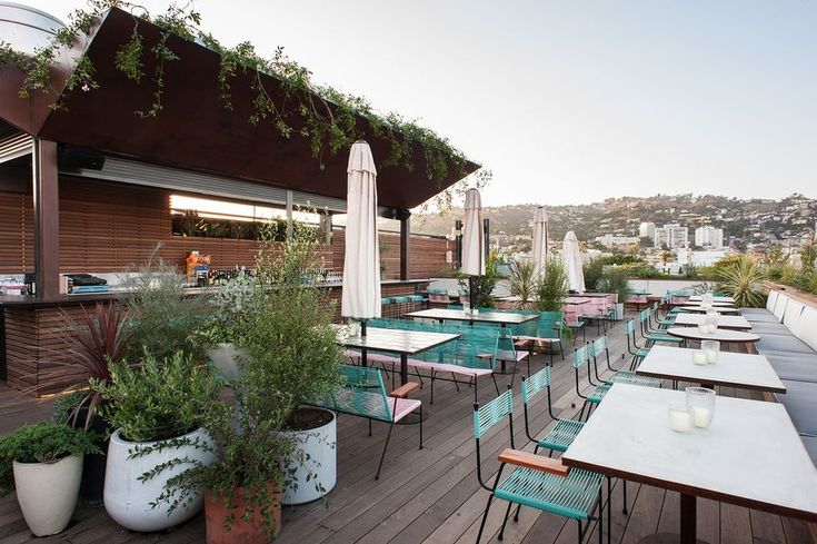 E.P. & L.P. Rocks West Hollywood's Most Glam Rooftop - Eater LA
