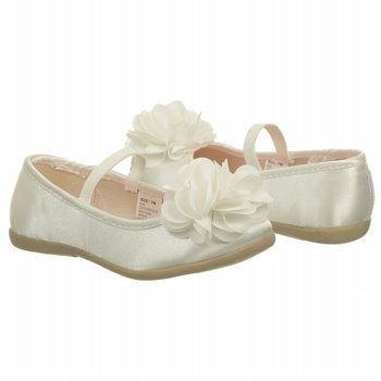 Kids Carter s   Soon Flat Toddler Preschool Ivory Shoes.com ... dbe78f50c