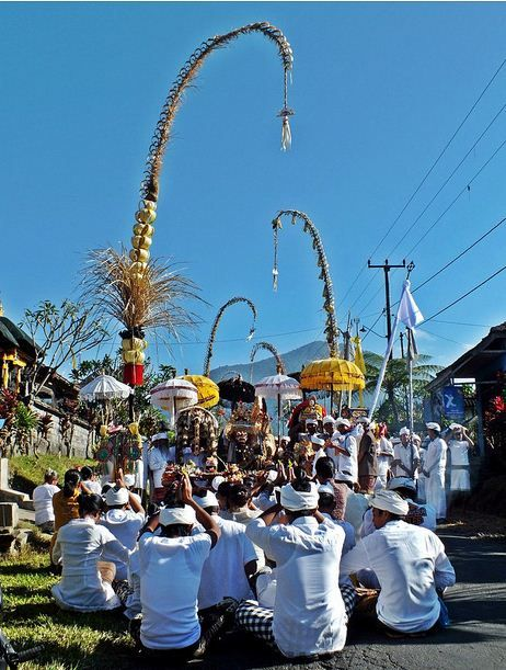 #Galungan in Bali, #BaliTowel loves this day !