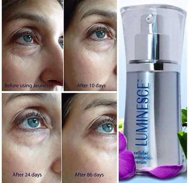 Luminesce Cellular Rejuvenation serum, reversing aging. Anti-Aging Skin Care. Wrinkles free, permanently removes signs of aging.