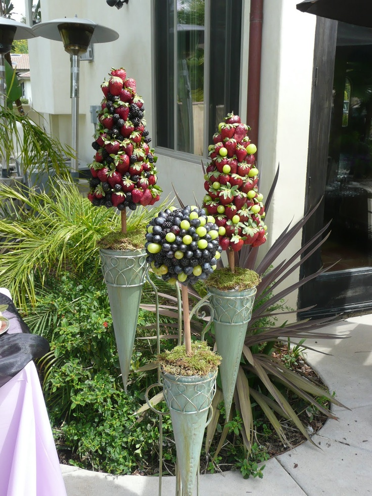Best edible topiaries wreathes and centerpieces