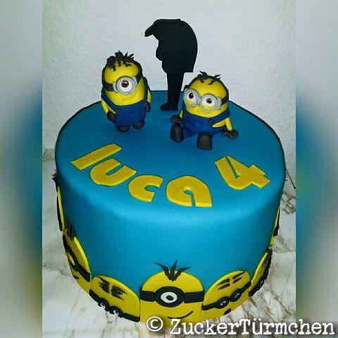 Motivtorte Minions cake