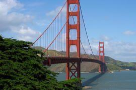 San Francisco - Golden Gate Bridge - Californie - Ouest Etats-Unis - Autotours