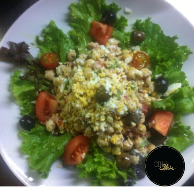 Salada de Atum fresca. Fresh Tuna Salad.
