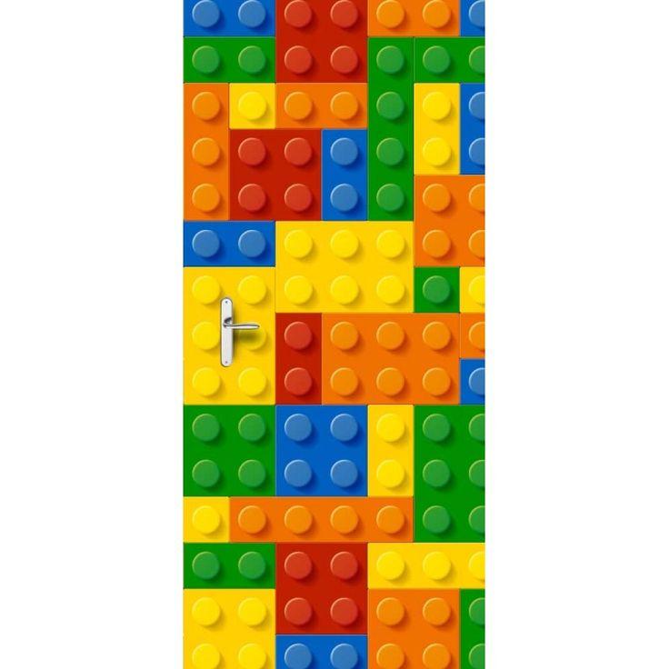 Deursticker Legoblokjes | Een deursticker is precies wat zo'n saaie deur nodig heeft! YouPri biedt deurstickers zowel mat als glanzend aan en ze zijn allemaal weerbestendig! Verkrijgbaar in verschillende afmetingen. #deurstickers #deursticker #sticker #stickers #interieur #interieurprint #interieurdesign #foto #afbeelding #design #diy #weerbestendig #speelgoed #lego #jongen #jongenskamer #legoblokjes