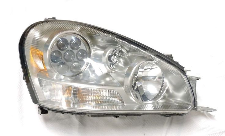02-05 Infiniti Q45 Passenger Right Headlight RH Head Light Lamp Assembly OEM Up  #infinitioem