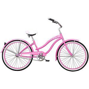 "26"" Micargi Rover GX Women's Beach Cruiser Bike, Pink"