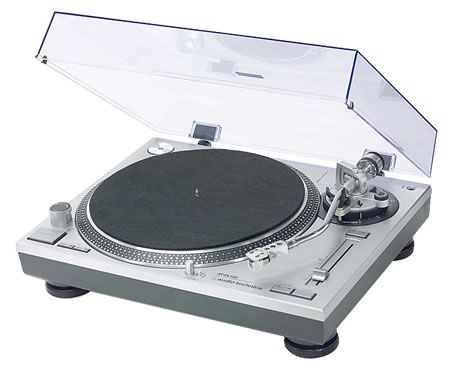 Audio Technica AT-LP120 USB HiFi turntable w/ Nagaoka MP110 Improved by LP Gear (Free S&H US Ground