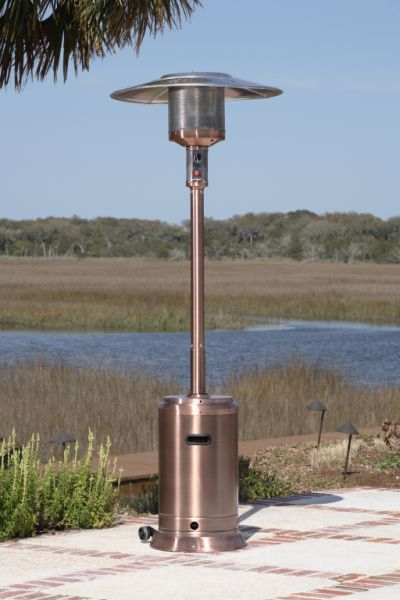 46,000 BTU Commercial Copper Finish Patio Heater