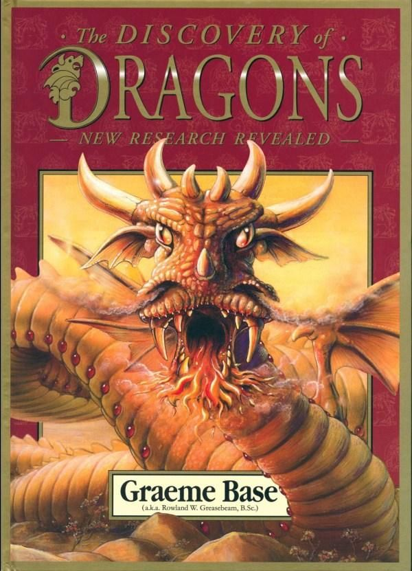 (Own) The Discovery of Dragons :  New Research Revealed - Graeme Base - this is Stage 2 or 3. There's a lot of text in difficult to read cursive fonts. A good one for the older readers who still love pictures.