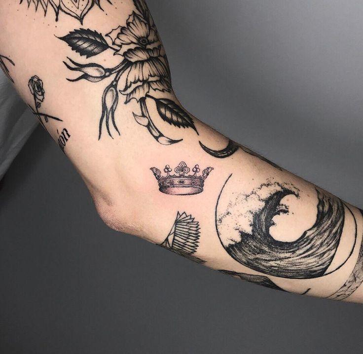 Unterarm mann kleines tattoo Kleine Tattoos