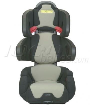 La silla de auto Momo de Jané es la unión perfecta entre deportividad y protección. Grupo 2-3 (de 15 a 36 kg) Disponible en 1000bebes.com por $69.90€ (precio en euros)