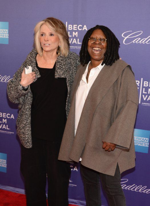 Whoopi Goldberg and Sheila Nevins at event of Moms Mabley: I Got Somethin' to Tell You (2013)