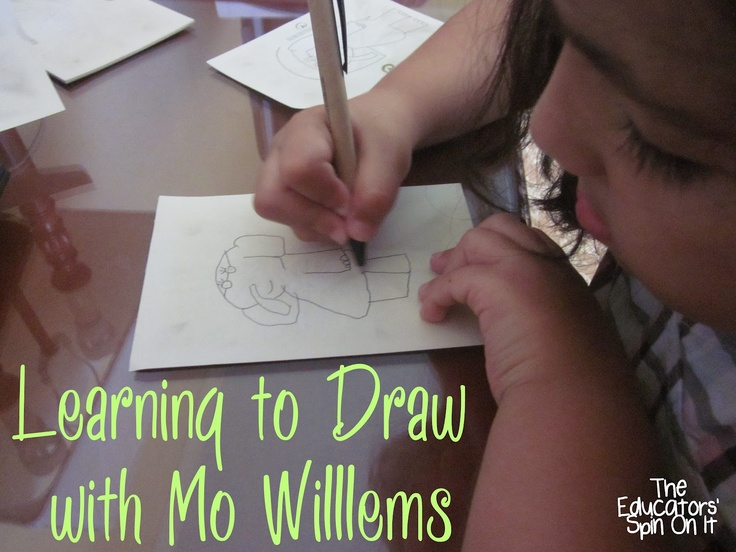 The Educators' Spin On It: Learning to Draw with Mo Willems: Virtual Summer Book Club
