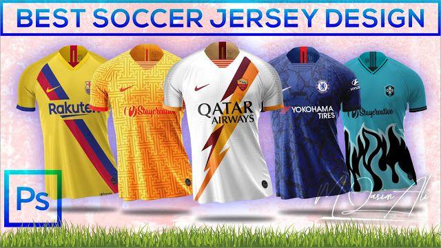 Download Free Nike Mockup Best Soccer Jersey Mockup Design Tutorial In Photoshop By M Qasim Ali Football Shirt Designs Soccer Jersey Mockup Design