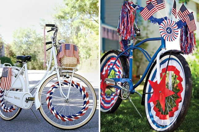 Bike Decorations   30 Ways to Rock the 4th of July