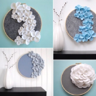Cheap Wall Decor 33 best felt wall art images on pinterest | felt crafts, felt wall