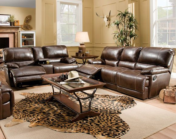 Red River Reclining Sofa Amp Loveseat Living Rooms