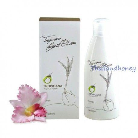 Тоник с кокосовым маслом для лица Tropicana Coconut Oil Toner