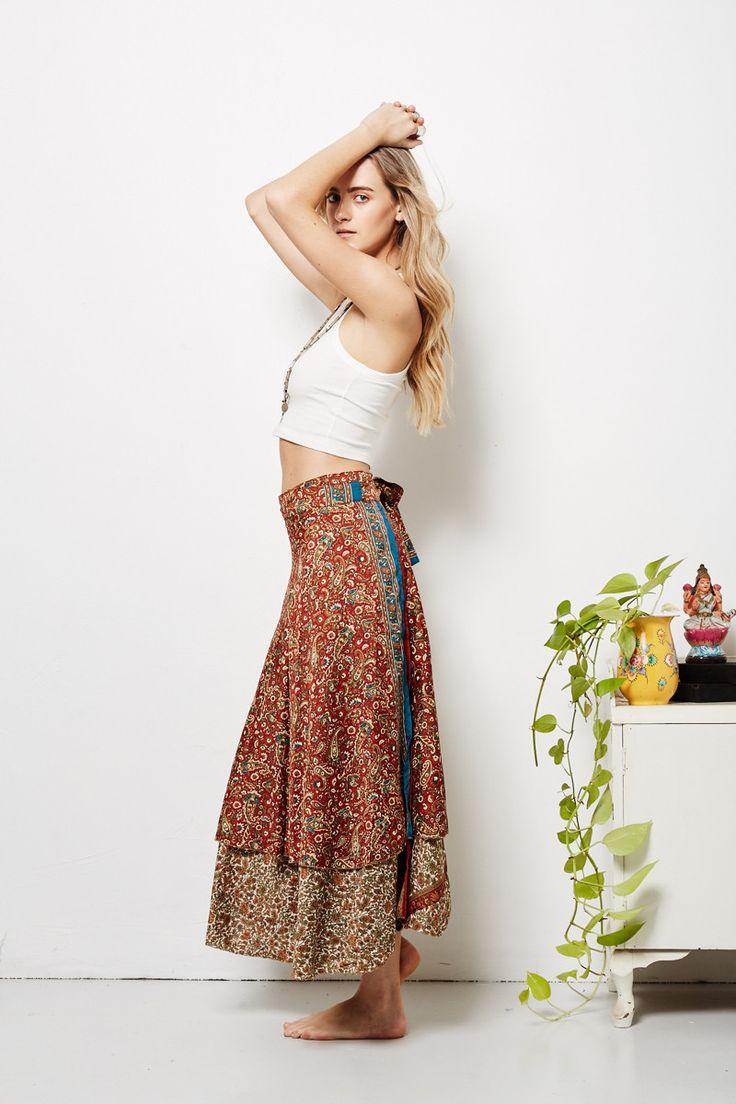 Alia Wrap Skirt