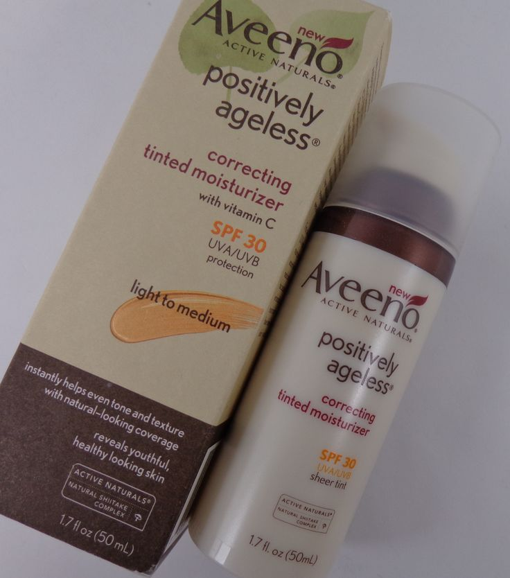 Another new favourite from Glossybox -Aveeno Tinted Moisturizer in Light/Medium @GLOSSYBOX Canada