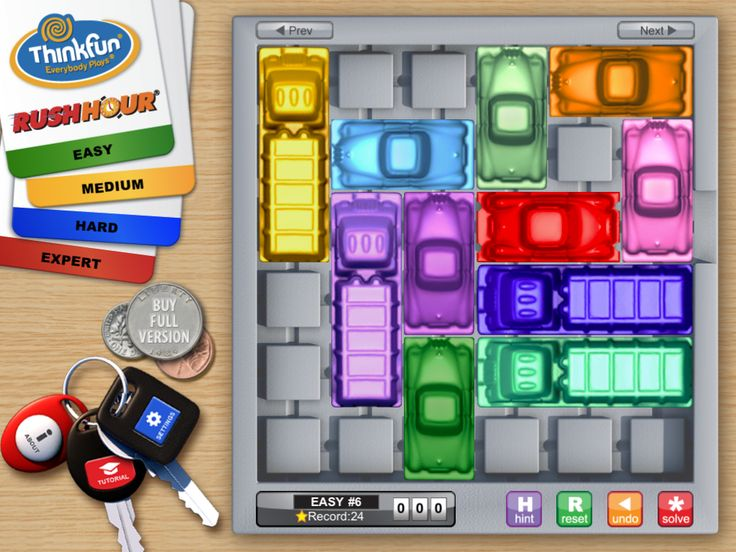 OT Cafe: App of the Week | Rush Hour {+ Chocolate Fix}: These apps by ThinkFun are great for developing executive function and visual perceptual skills.