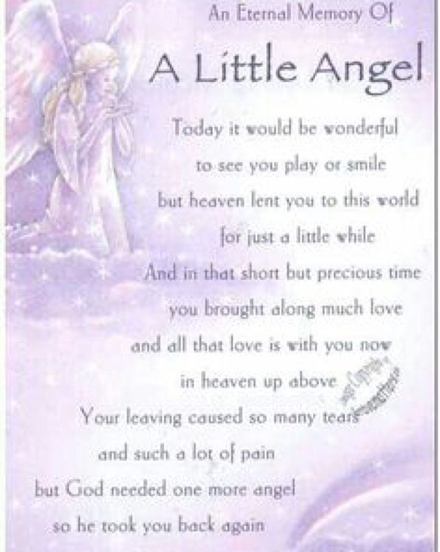 Happy Birthday to my guardian angel #babyangel