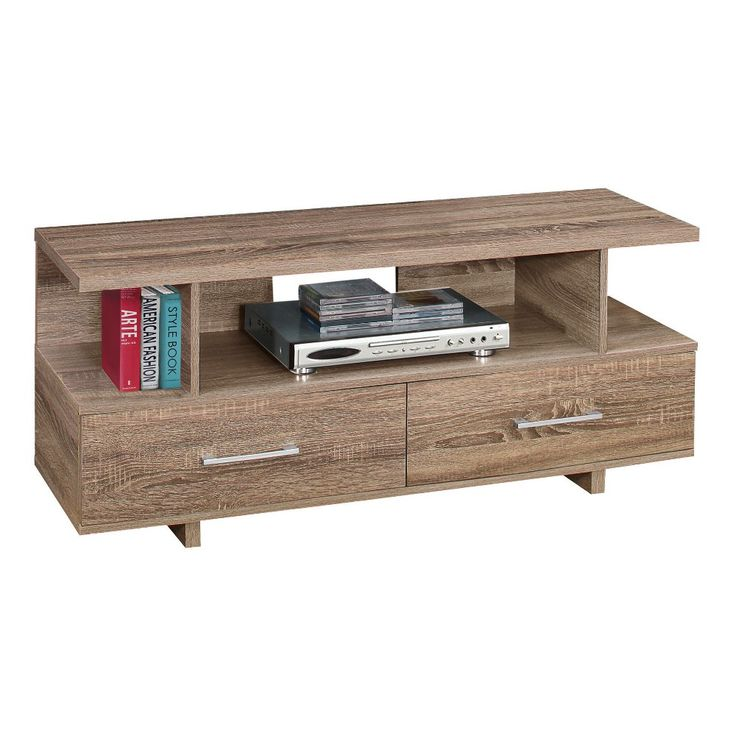 TV Stand with Drawers - Dark Taupe - EveryRoom