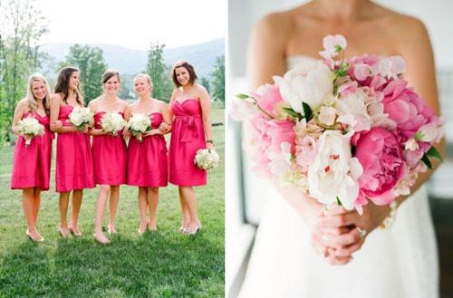 Roze-bruidsmeisjes