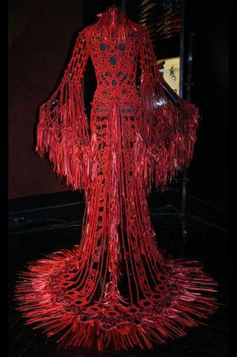 Magnifique longue robe de Sorbier style décalé
