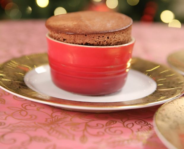 Gingerbread Souffle with #Eggnog Custard recipe by Eric Lanlard, Food ...
