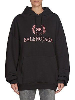 e56ef9913 Balenciaga - Logo Hoodie | Hoods & Sweats | Hoodies, Sweatshirts ...