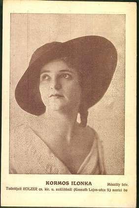 Kormos Ilonka - Forrás: www.postcards.arcanum.hu