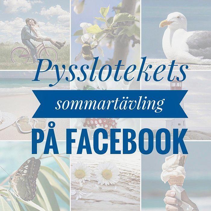 """60 Likes, 1 Comments - Pyssloteket (@pyssloteket) on Instagram: """"Idag börjar Pysslotekets sommartävling, och den räcker hela sommaren ut, så att du inte förlorar…"""""""