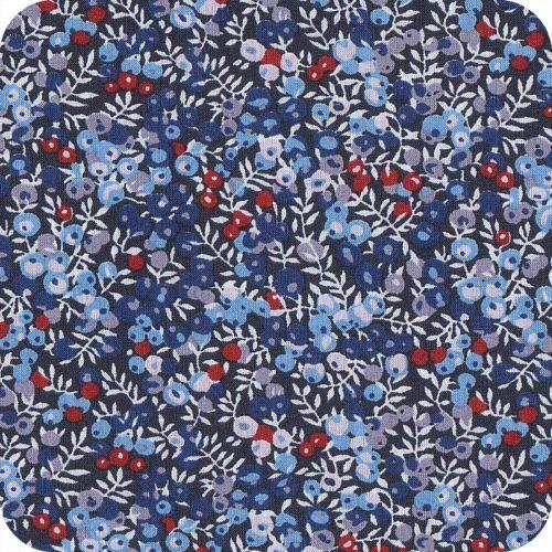 Tissu Liberty Wilmslow berry blue