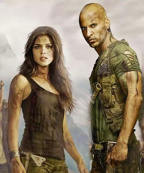 The 100 octavia and lincoln i ship them so hard it for Tv show with tattooed woman