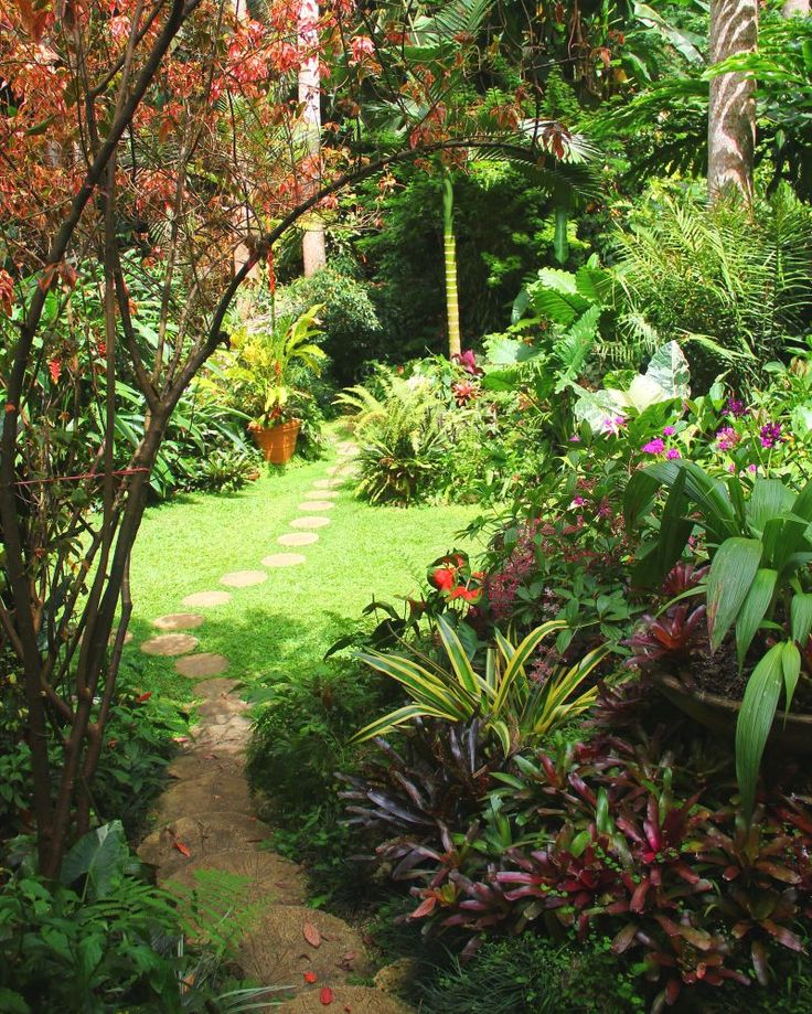 Meander through tropical gardens, inspired by nature's beauty & tranquility.