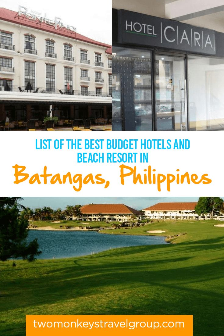 List of the Best Budget Hotels and Beach Resort in Batangas, Philippines