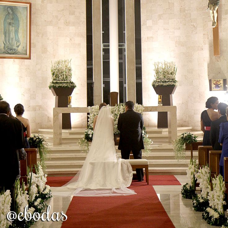 Decoración Iglesia - Church Wedding Ceremony