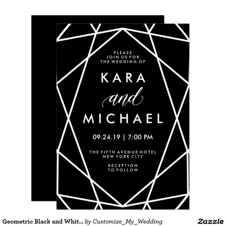 Best 25 Black and gold invitations ideas – Black Invitation Cards